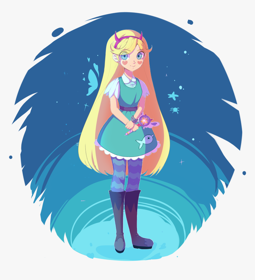 The Forces Of Evil , Png Download - Star Butterfly Narwhal Dress, Transparent Png, Free Download