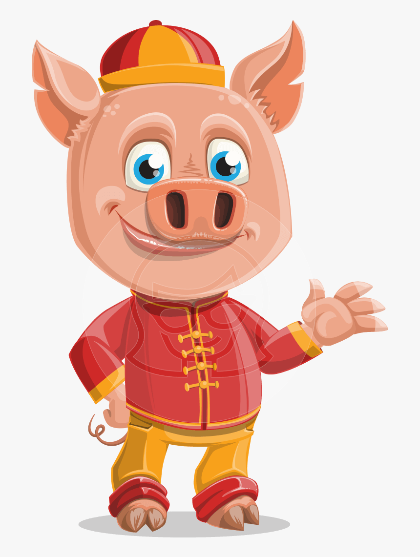 Transparent Pig In Mud Clipart - Cartoon, HD Png Download, Free Download