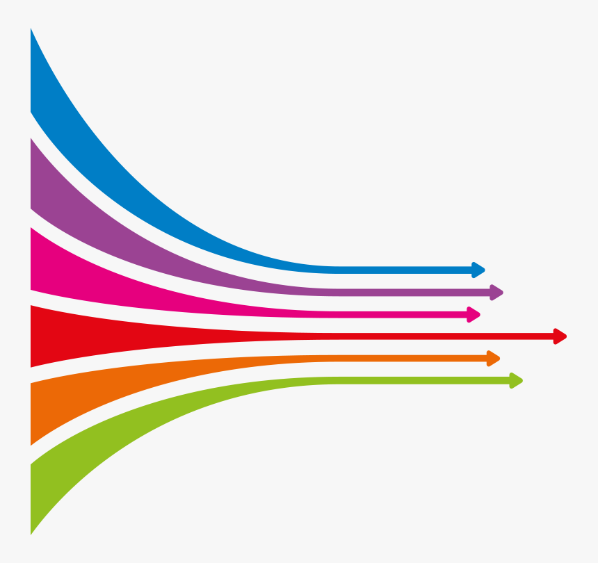Transparent Life Bar Png - Colour Line Design Png, Png Download, Free Download