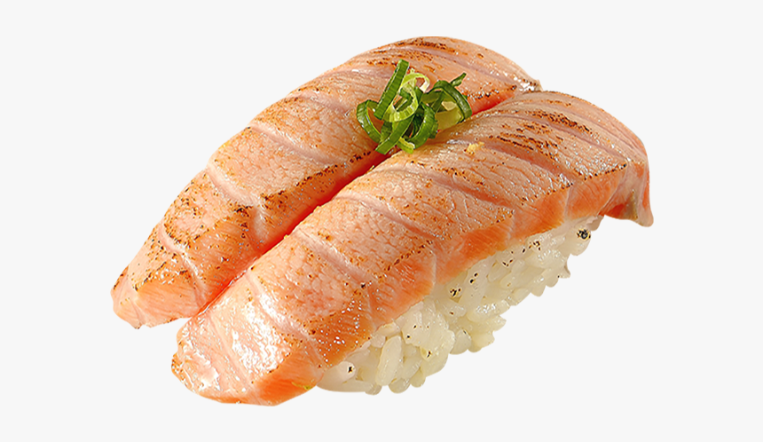 Clip Art Salmon Nigiri Sushi Hd Png Download Kindpng