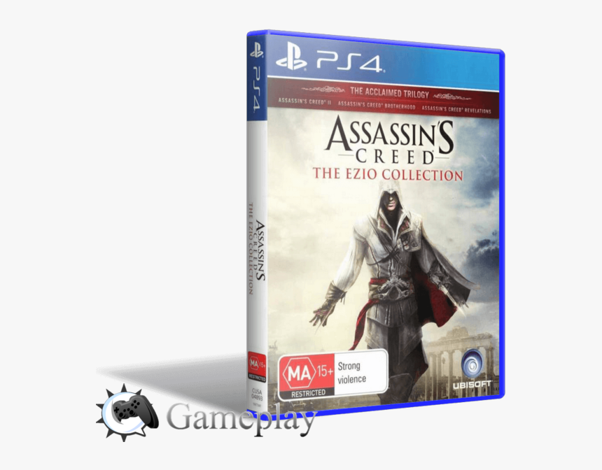 Assassins Creed The Ezio Collection Assassins Creed Ezio Collection Ps4 Hd Png Download Kindpng