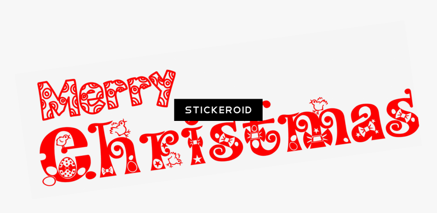 Transparent Merry Christmas Text Png - Easter Egg Clip Art, Png Download, Free Download