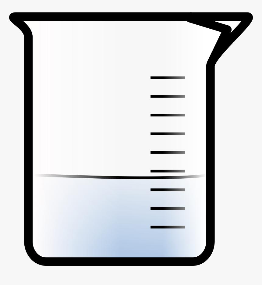 Clip Art Beaker Coloring Page - Beaker Clip Art, HD Png Download, Free Download