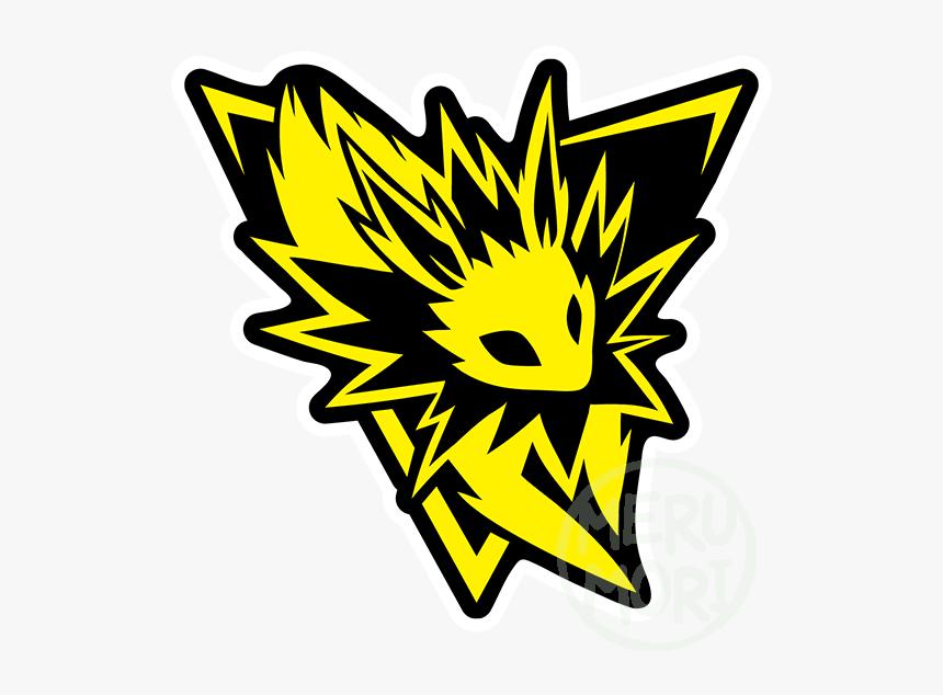 Pokego Jolteon Sticker - Jolteon Team Instinct, HD Png Download, Free Download