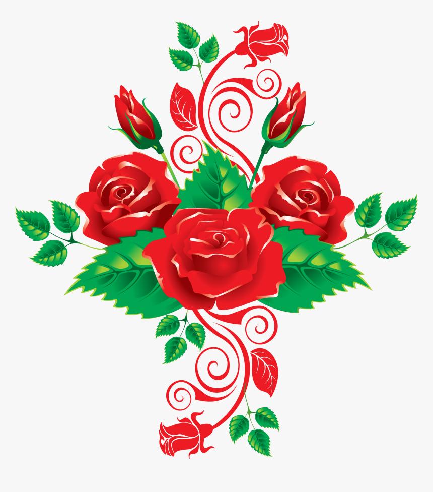 Rose Clip Art - Rose Vector Flower Png, Transparent Png, Free Download
