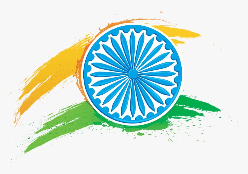 Indian Flag With Ashoka Chakra, HD Png Download, Free Download