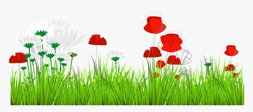 Hd Art Grass Decor - Rumput Bunga Png, Transparent Png, Free Download