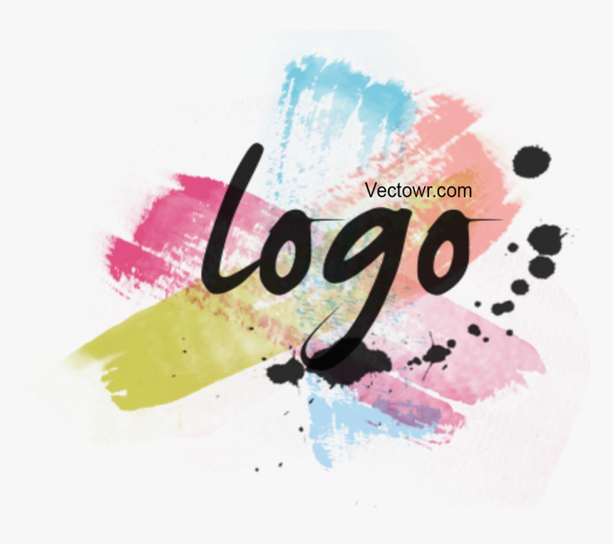 Watercolor Brush Effect Logo & Animation, - Calligraphy, HD Png Download, Free Download