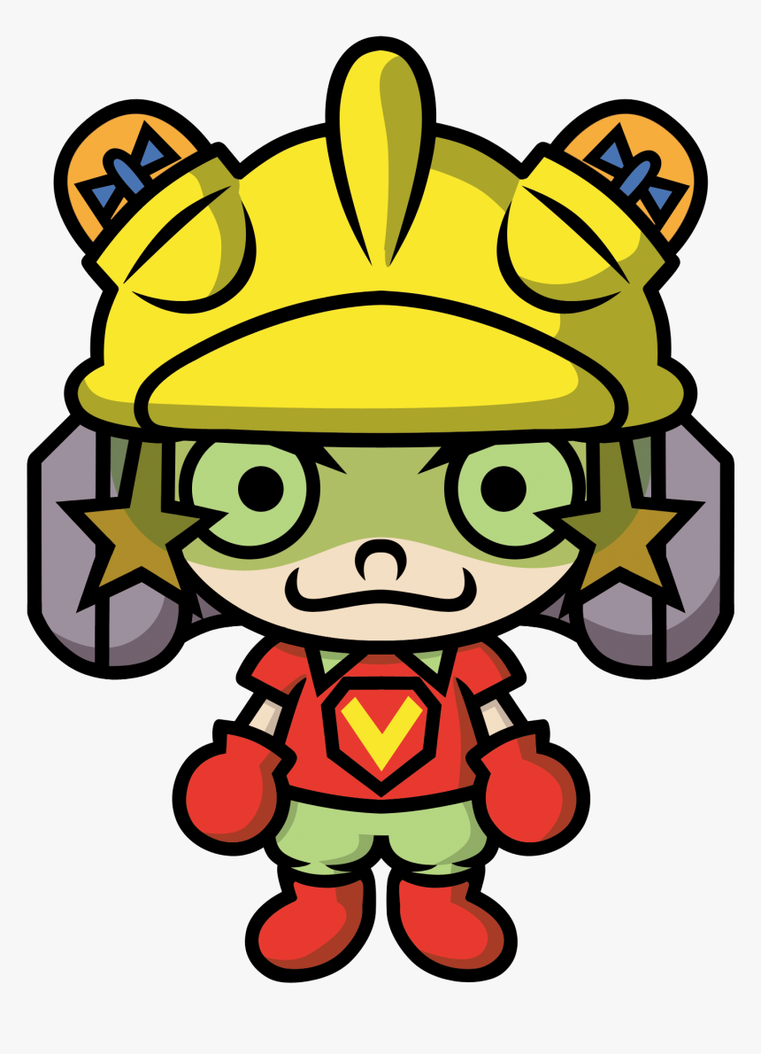 9-volt Is One Of Several Characters From The Wario - Wario Ware 9 Volt, HD Png Download, Free Download