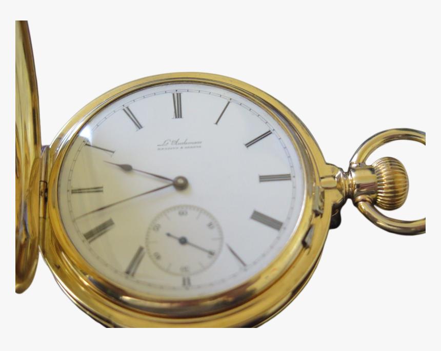 "Audemas Minute Repeater Pocket Watch""  Title=""l - Pocket Minute Repeater Watch, HD Png Download, Free Download"