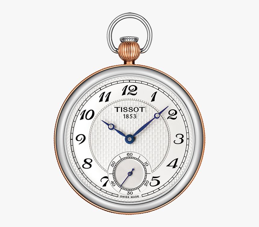 Tissot Bridgeport Lepine Mechanical Watch With Silver - Tissot Pocket Watch Mechanical, HD Png Download, Free Download