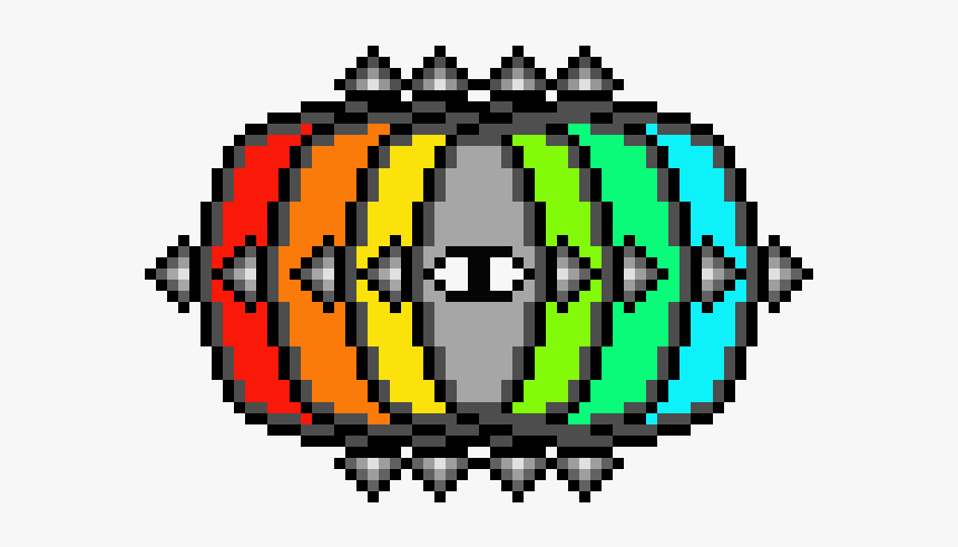 Terraria Bosses Pixel Art, HD Png Download, Free Download