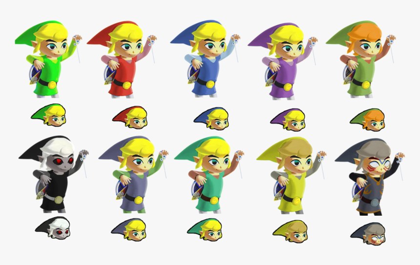 Toon Link Face Png - Cartoon, Transparent Png, Free Download