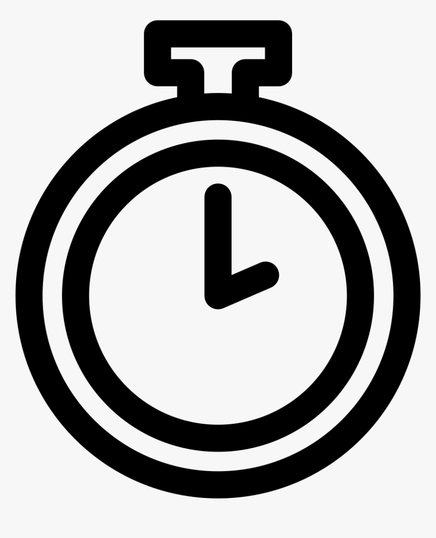 Pocket Watch - Pocket Watch Icon Png, Transparent Png, Free Download