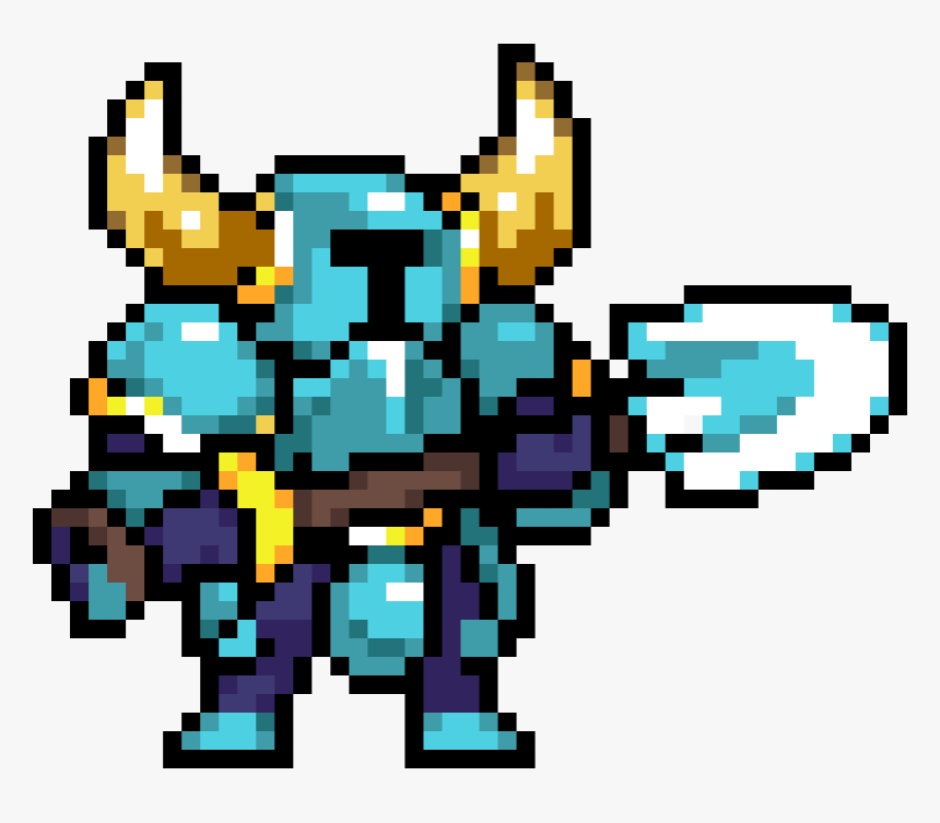 Shovel Knight Rivals Of Aether Sprite Hd Png Download Kindpng