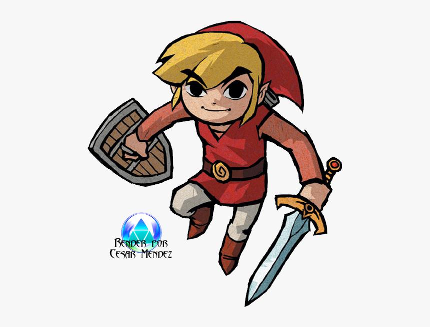 Zelda Four Swords Link, HD Png Download, Free Download