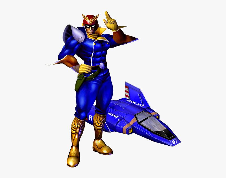 F Zero Captain Falcon, HD Png Download, Free Download