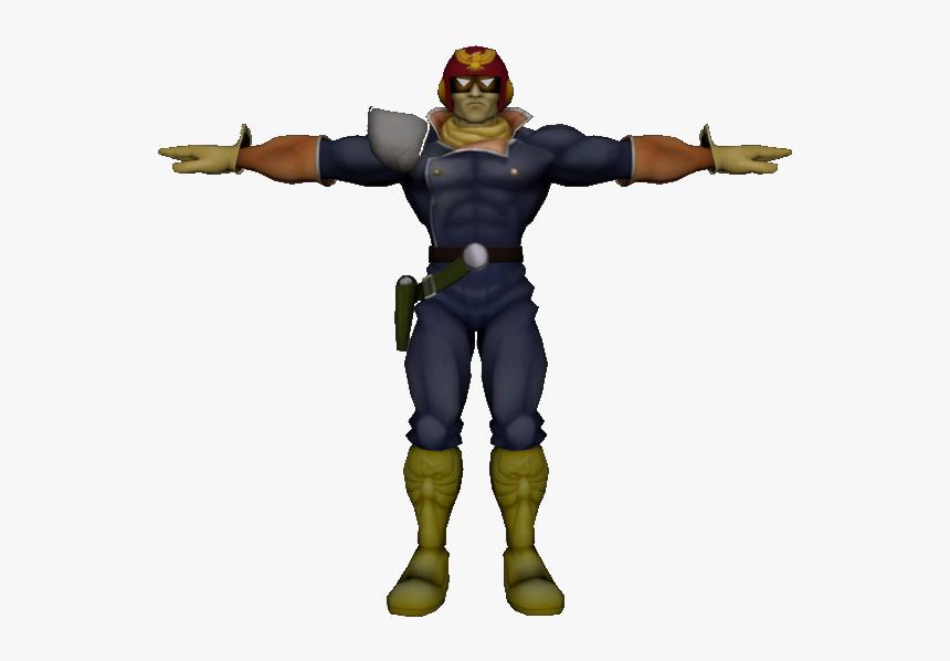Download Zip Archive - Captain Falcon Smash 4 Model, HD Png Download, Free Download