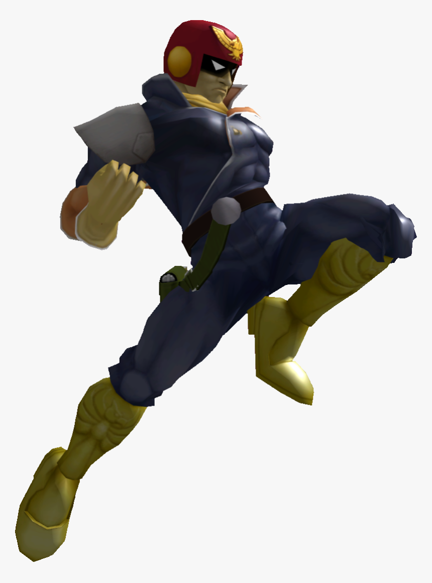 Captain Falcon Melee Render, HD Png Download, Free Download