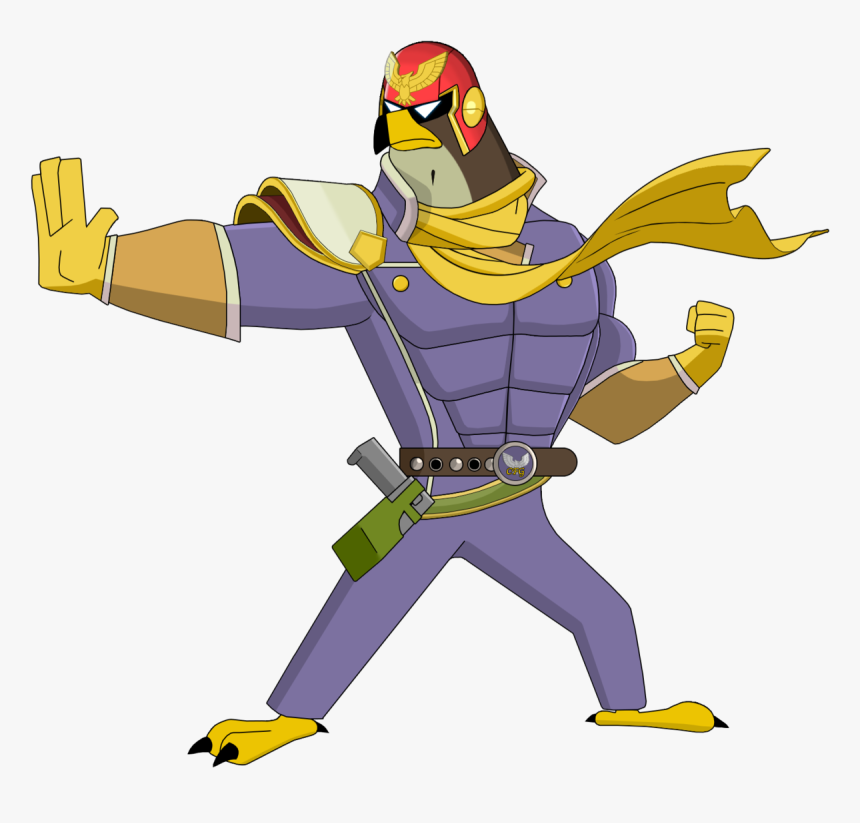 It's Captain Falcon Graves Falcon Punch - Captain Falcon Funny Transparent, HD Png Download, Free Download