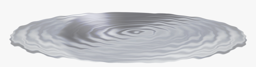 Puddle Water Ripple Effect - Water Puddle No Background, HD Png Download, Free Download