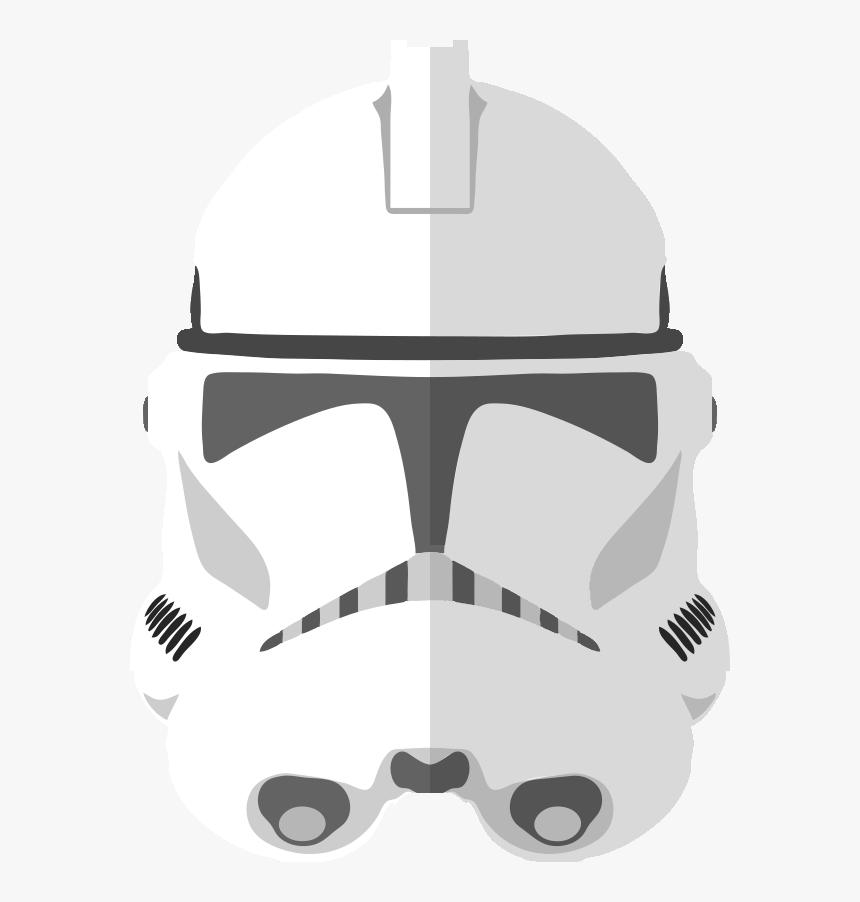 Clone Trooper Helmet Png, Transparent Png, Free Download