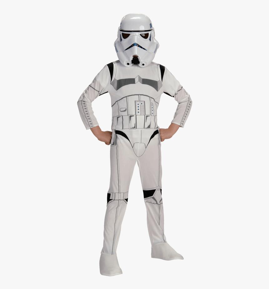Classic Kids Stormtrooper Costume - Star Wars Storm Trooper Costume, HD Png Download, Free Download