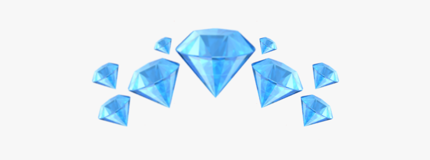 #diamond #emoji #emojis #crown #diamante #idk #celeste - Diamond Emoji Crown Png, Transparent Png, Free Download
