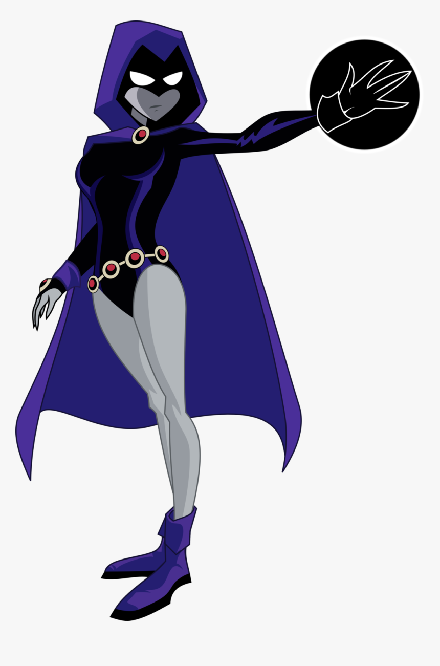 Raven Starfire Robin Beast Boy Nightwing - Teen Titans Raven Transparent, HD Png Download, Free Download