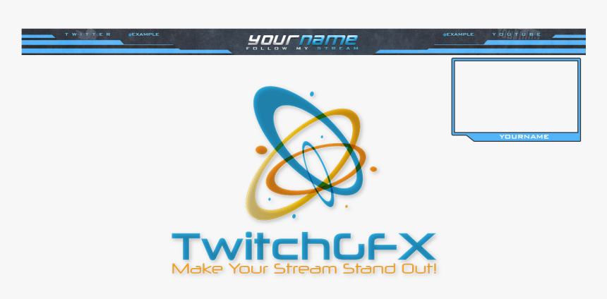 Twitch Stream Top Bar, HD Png Download, Free Download