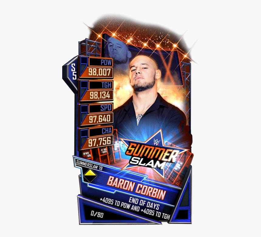 Wwe Supercard Summerslam 19 Cards, HD Png Download, Free Download