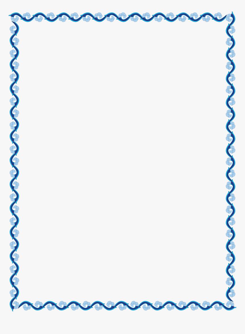 Outline Border Design Simple , Png Download - Simple ...