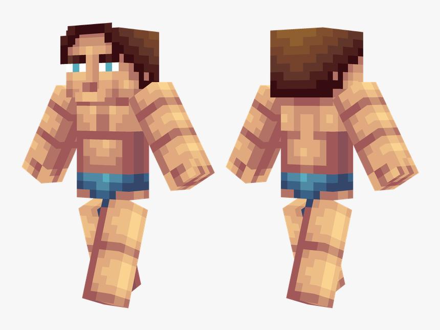 Minecraft Arnold Schwarzenegger Skin, HD Png Download, Free Download