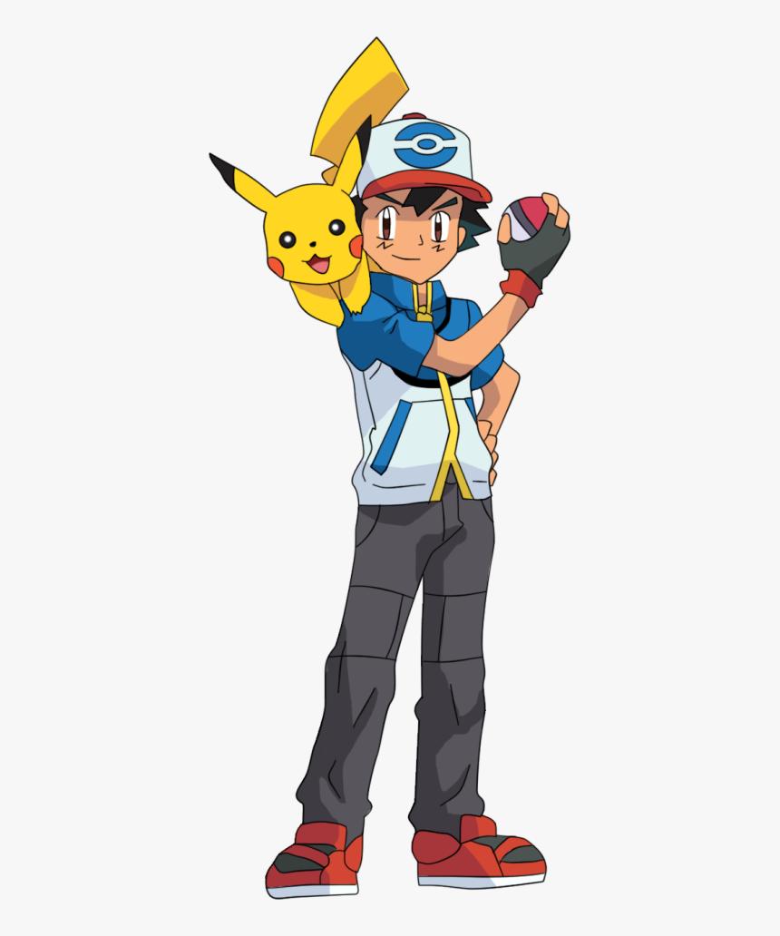 Transparent Pokemon Ash Png - Pokemon Ash Ketchum Png, Png Download, Free Download