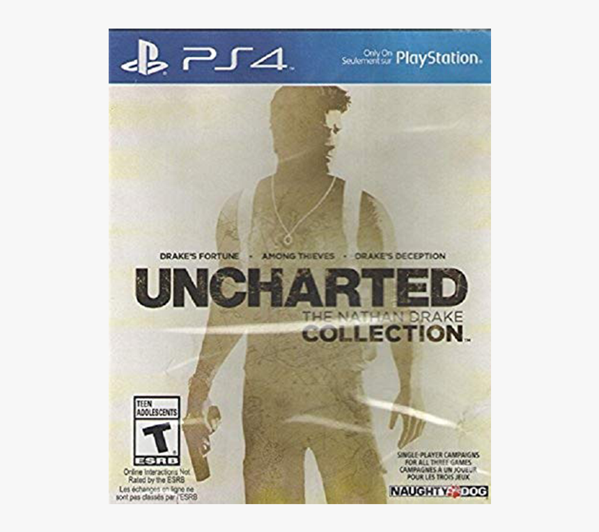 Uncharted The Nathan Drake Collection Box Hd Png Download Kindpng