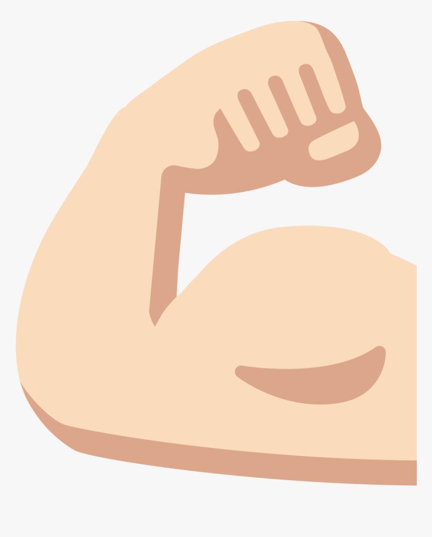 Transparent Muscle Emoji Png, Png Download, Free Download