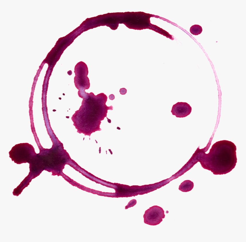 Clipart Food Stain - Red Wine Stain Png, Transparent Png, Free Download