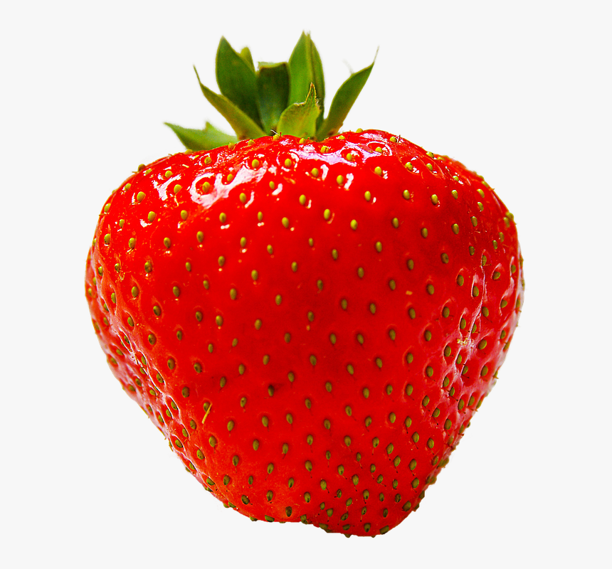 Strawberry Fruit Red Photo Pixabay - Red Strawberry Fruit, HD Png Download, Free Download