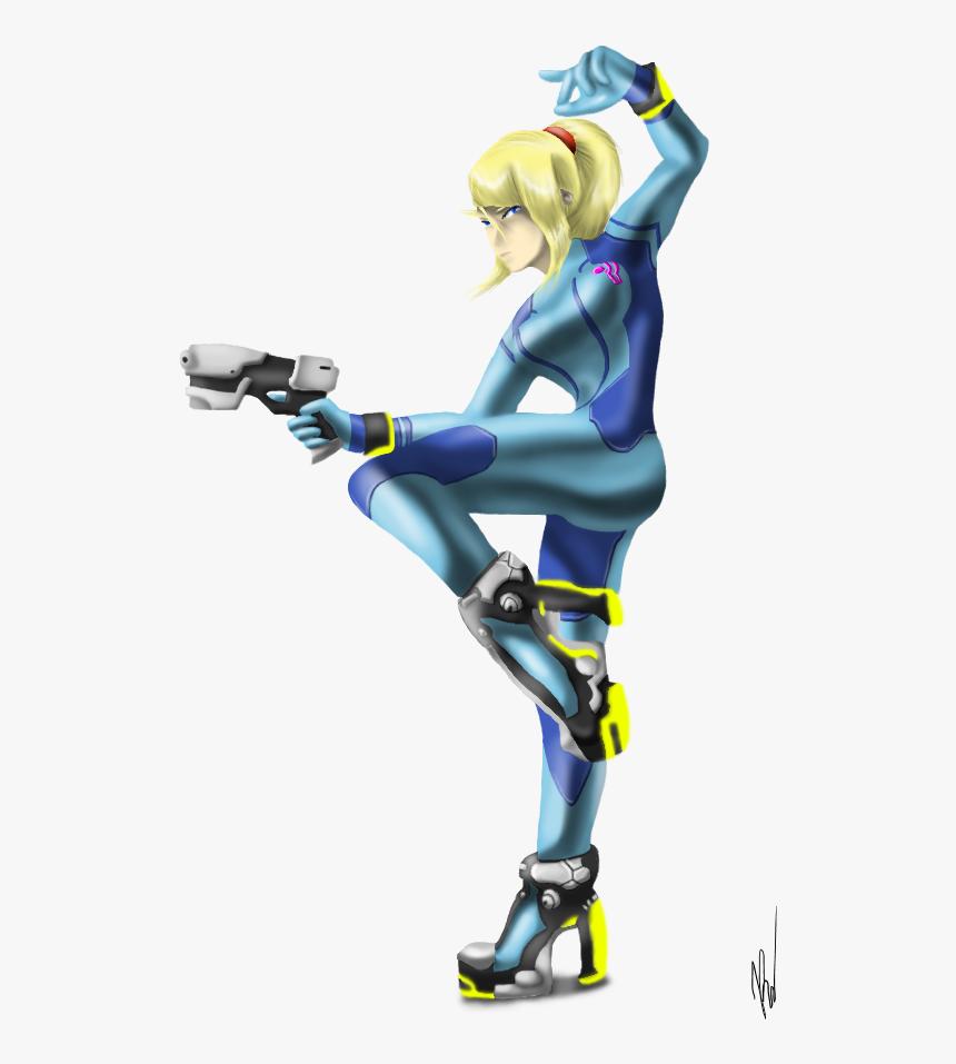 Zero Suit Samus By Emilykiwi Zero Suit Samus Aran Png