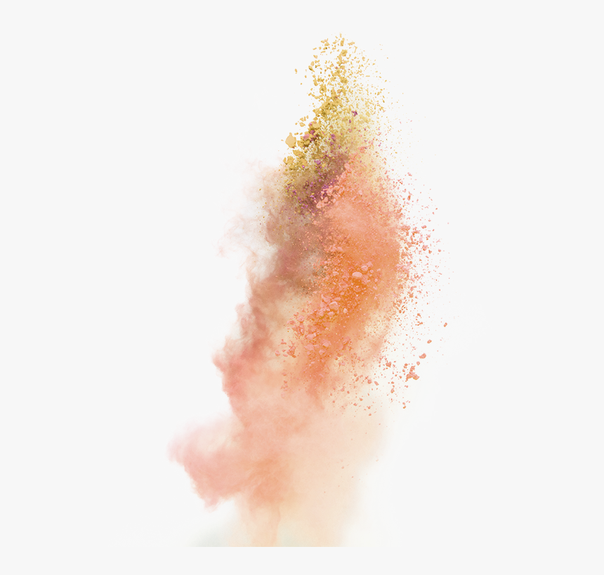 Explosion Dust Purple - Transparent Background Smoke Effect Orange, HD Png Download, Free Download
