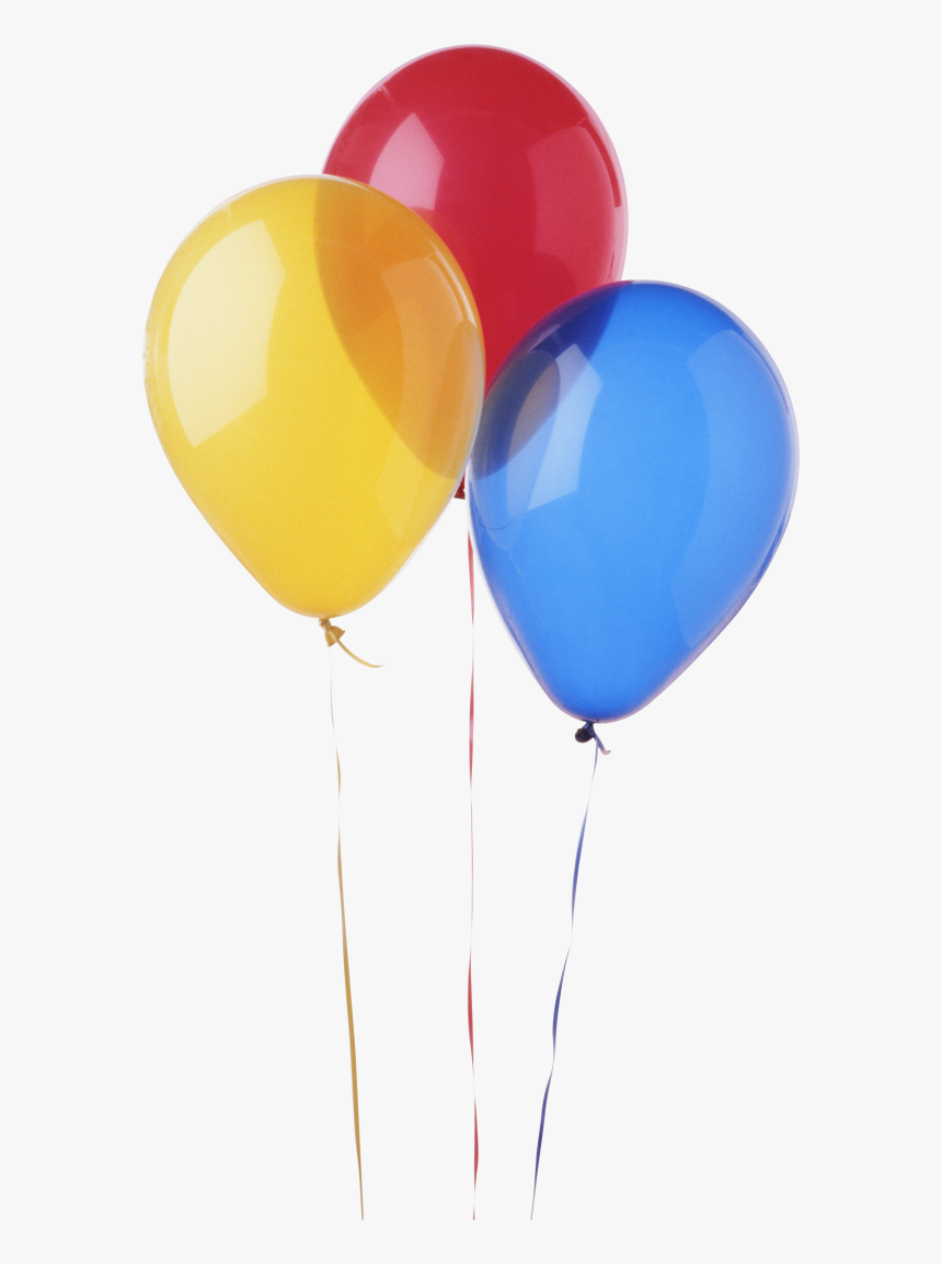 Red Blue And Yellow Png - Transparent Background Balloon Png, Png Download, Free Download