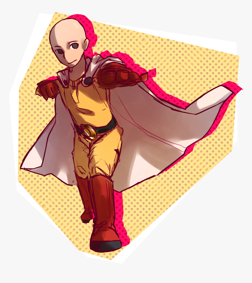 Saitama One Punch Man By, HD Png Download, Free Download