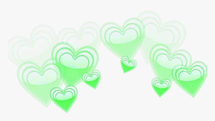 #green #crown #emoji #emojis #remixit #sticker #emojicrown - Emoji Heart Crown Png Green, Transparent Png, Free Download