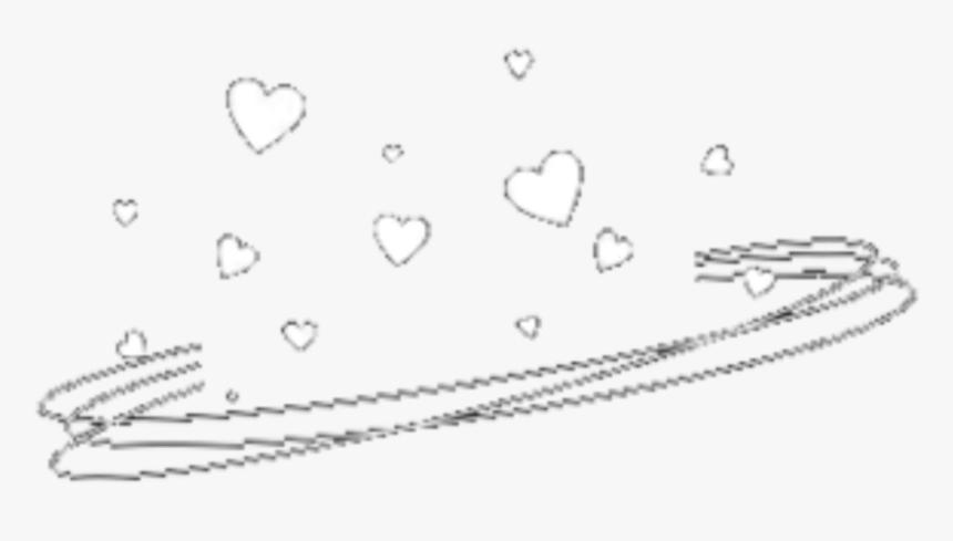 Drawn Crown Picsart Png - Crown Heart For Picsart, Transparent Png, Free Download