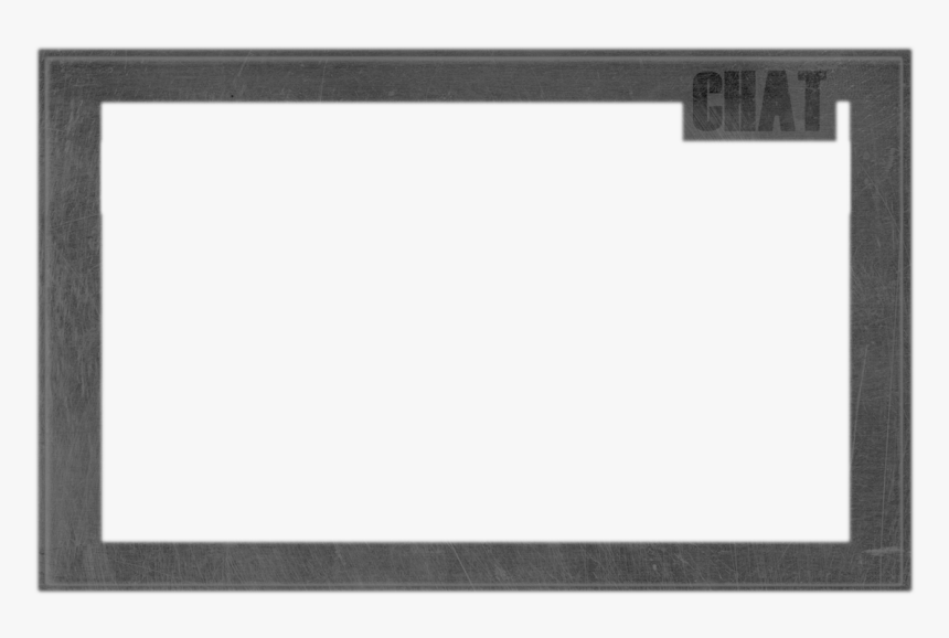 No Webcam Overlay Twitch Stream 171071 Png - Monochrome, Transparent Png, Free Download