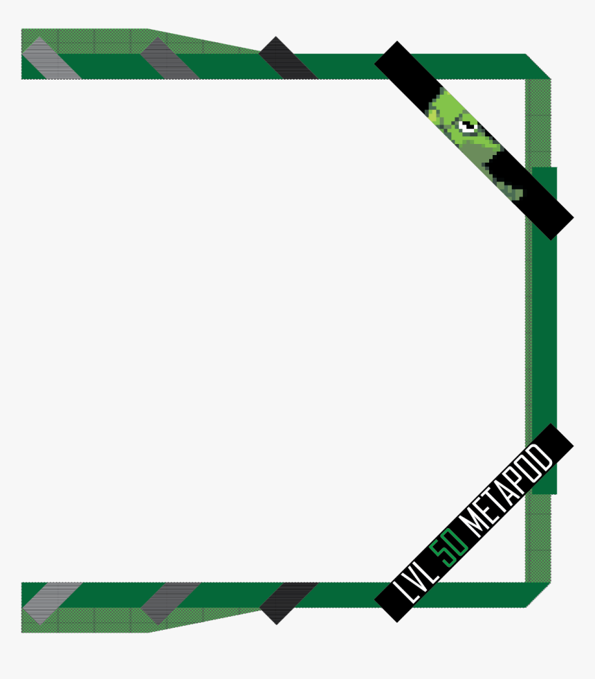 Transparent Metapod Png - Twitch Webcam Overlay Mask, Png Download, Free Download