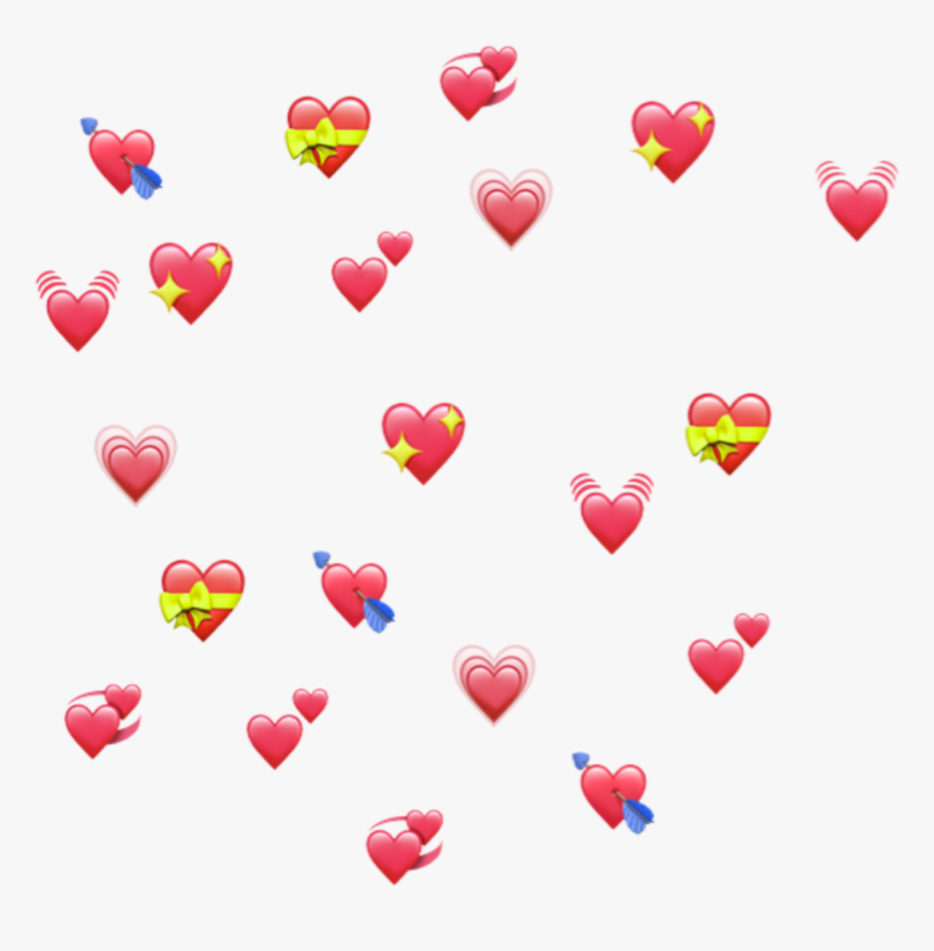 Uwu Hearts Emoji Reactmemes Memes Meme Heart Lmao Bts Emoji Hearts Transparent Background Hd Png Download Kindpng