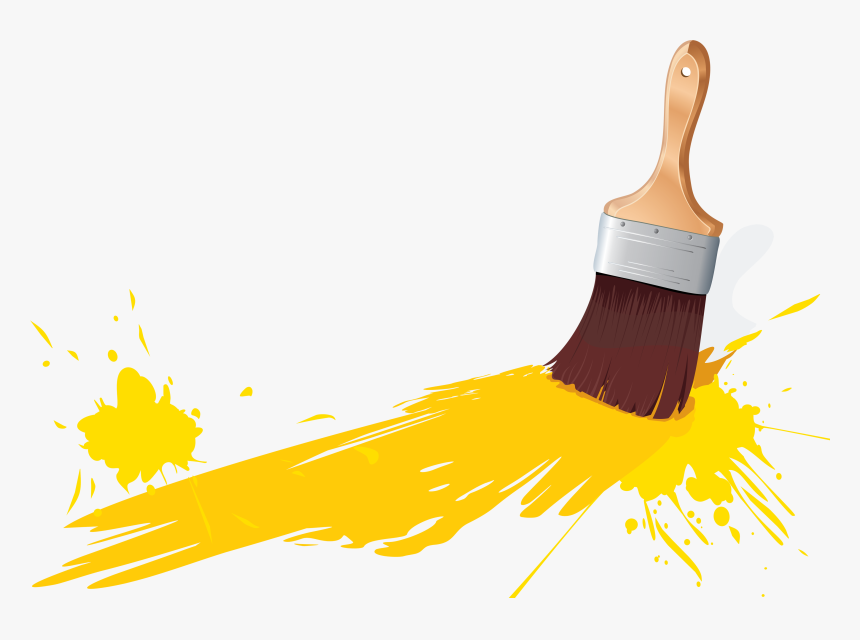 Paint Brushes Png - Brush And Paint Png, Transparent Png, Free Download