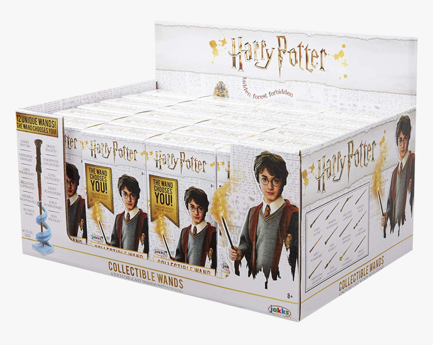 Harry Potter Diecast Wands Blind Box Wave 3 Display, HD Png Download, Free Download