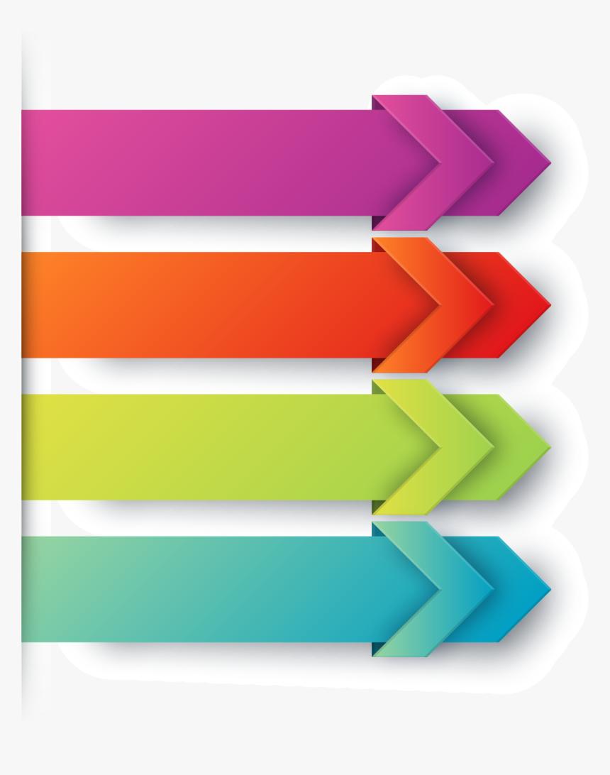 Transparent Free Arrow Clipart - Vector Arrow Colors Png, Png Download, Free Download
